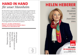 Helen Heberer - Hand in Hand für unser Mannheim